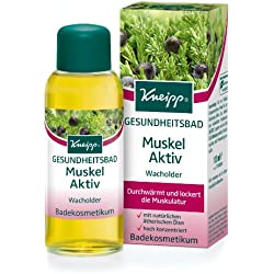 Kneipp Gesundheitsbad Muskel Aktiv Wacholder, 1er Pack (1 x 100 ml)