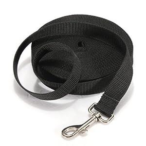 Laisse pour Chien Longue Corde 10M/15M Laisse de Dressage pour Chiot Collier Harnais Réglable Nylon Haute Résistance pou