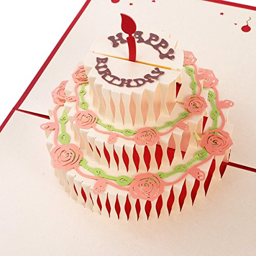 rte (3D Pop up Grußkarte) (Geschenkkarte Geburtstag)