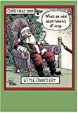 B1858 Box Set of 12 Little Craigslist Unique Humor Christmas Greeting Cards with Envelopes by NobleWorks