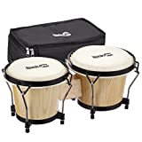 Technote Set Bongo 18 et 20 cm en bois naturel