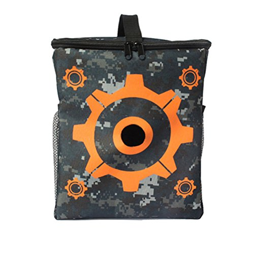 NUOLUX Nerf Elite Blaster Tasche Aufbewahrungsbeutel Target für Nerf N-Streik Elite