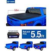 Tyger Auto TG-BC2F2076 RoLock Low Profile Roll-Up Truck Bed Tonneau Cover (For 2009-2014 Ford F-150 5.5' Bed Only (Exclude Raptor Series) by Tyger Auto