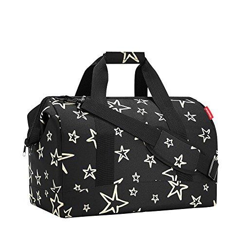 Reisenthel Allrounder Travelling Polyester Reisetaschen, Schwarz (Stars), 30 L