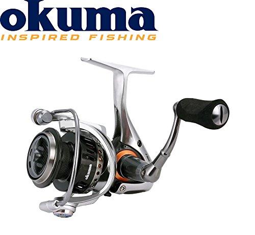 Okuma Helios HSX-20FD Rolle, Spinnrolle, Schnurfassung 220m 0,15mm, Stationärrolle, kleine Angelrolle für Forellen, Barsch