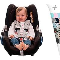 JANABEBE Protector de arnés para silla de paseo, maxi cosi y silla de coche