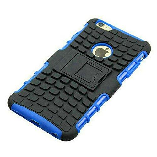 Motif de Tire Téléphone Shell Housse de protection pour iPhone Combo Armure 6 Plus / 6S Case Pone Plus avec Titulaire de soutien, Orange