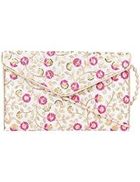 Rajasthani Jaipuri Bohemian Art Sling Bag Foldover Purse - B07FN19LF7