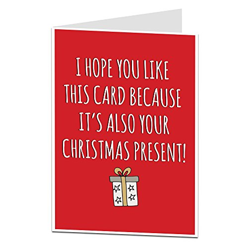 Funny Humerous Christmas Card Perfect For Dad\'s Brothers & Office ...