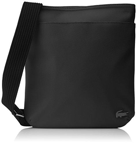 Lacoste Sac Homme Access Premium, Porté Épaule, Noir (Black), 28x3x24.5 cm (W x H x L)