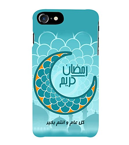 Fiobs Designer Back Case Cover for Apple iPhone 7 Plus (Eid Moon...