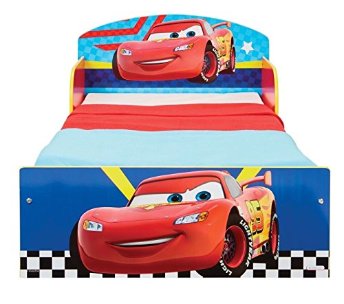 Disney Cars Bett 140x70 cm Kinderbett Kindermöbel Möbel Autobett McQueen 505CAC
