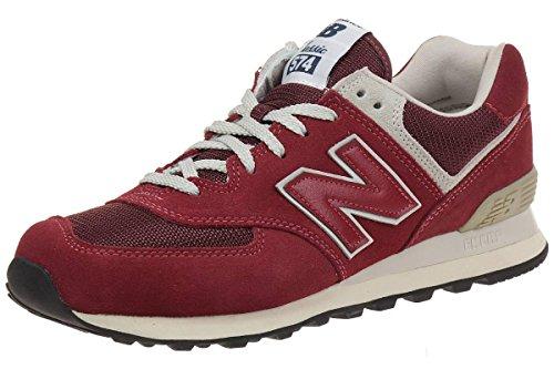 New Balance Herren WL574 Sneakers Rot (Red)
