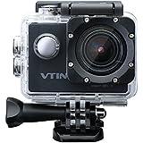 [Caméra de Sport et Action Etanche WIFI] VTIN Eypro Caméscope d'action Etanche 30m Full Haute Définition HD WIFI 1080P 12MP 170°Grand Angle avec Batteries et Accessoires Complémentaires