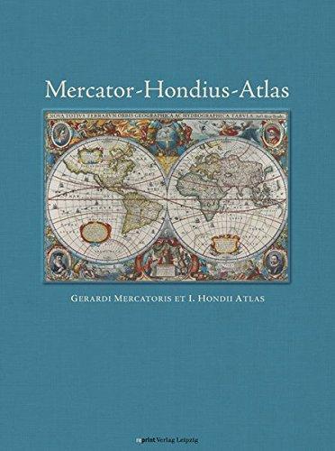 Mercator-Hondius-Atlas: Gerardi Marcatoris et I. Hondii Atlas (Mercator-atlas)