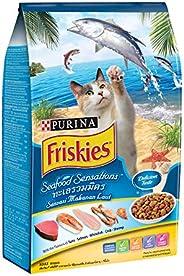 طعام القطط سيفود بنكهة الاطعمة البحرية من بيورينا فريسكيز 1.2 كغم
