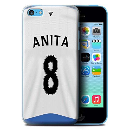 Offiziell Newcastle United FC Hülle / Case für Apple iPhone 5C / Pack 29pcs Muster / NUFC Trikot Home 15/16 Kollektion Anita