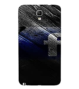 PrintVisa Butterfly Facebook 3D Hard Polycarbonate Designer Back Case Cover for Samsung Galaxy Note 3 Neo
