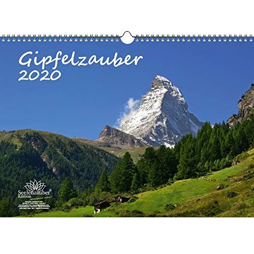 Gipfelzauber DIN A3 Kalender 2020 Berge und Gipfel - Seelenzauber