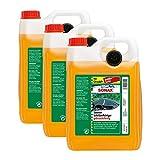 SONAX 3X 02605000 ScheibenReiniger gebrauchsfertig Citrus Konzentrat 5L