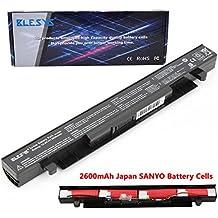 BLESYS - 14.4V/4Células A41-X550 ASUS X550 X550C X550CA X550L X552CL F550L K450J X450 Batería Reemplace para A41-X550A