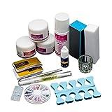 BYSTE 14 Pcs Acrilico Liquido Primer Nail art Spazzola Suggerimenti Strumento Impostato Kit