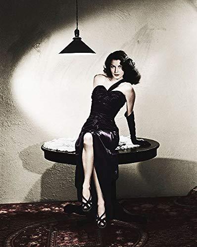 Rahmen-Kunst Keilrahmen-Bild - Hollywood Photo Archive: Ave Gardner II Leinwandbild Film Star Kino Kult -
