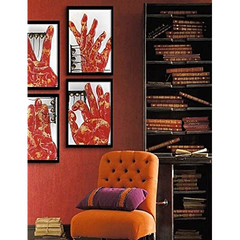 arte lienzo enmarcado, gesto enmarcado lona de ajuste de impresión de 4