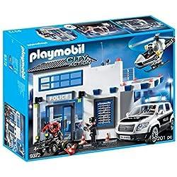 Playmobil Policía Mega Set, única (9372)