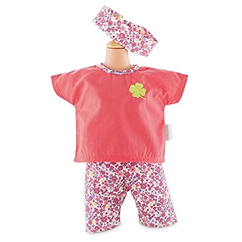 Corolle FCB95 Floral Bloom Legging Set for 17-Inch Baby Doll