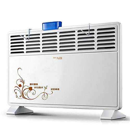 STEAM PANDA Chauffage électrique de panneau de chauffe-eau de salle de bains 1000w / 2000w basse sécurité efficace d'inclinaison de puissance de coupure coupée