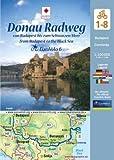 EuroVelo 6: Donau Radweg (Budapest - Schwarzes Meer) 1: 100 000: 8 Fahrradkarten in einem Set / Cycle Map Set (8 Maps) 1:100 000: Von Budapest bis zum ... vom Atlantik zum Schwarzen Meer, Band 3 - Huber Kartographie GmbH
