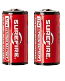 Surefire Batterien Lithium 123A 3V 2-er Packung, Rot, LAS-SF2CB