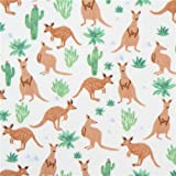 Hellcremefarbener süßes braunes Känguru Dear Stella USA