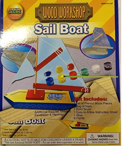 suas_international creative kids wood workshop sail boat build it paint
