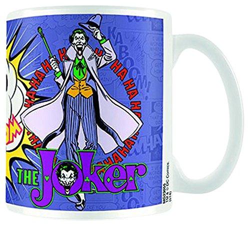 Empire Merchandising 675224 DC Comics Batman Joker cerámica Taza de tamaño, diámetro 8,5 Horas 9,5 cm