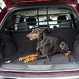 ISSYZONE Divisori Auto per Cani con Altezza Regolabile, Barriere Cani per Veicoli Universale Poggiatesta Auto per Cani