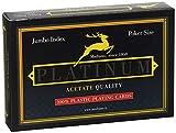 Modiano Ramino Platinum 2 Jumbo Index - Acetato - Carte da Gioco