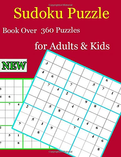 Sudoku Puzzle Book Over 360 Puzzles for Adults & Kids: Amazing search words that you've never seen before. por zore man
