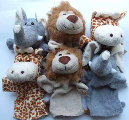 Marionetta, animali selvaggi, peluche