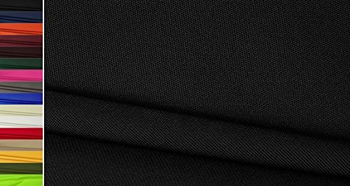 StoffBook 600D NYLONSTOFF CORDURA STOFF EXTRA ROBUST TASCHEN STOFFE, C633 (schwarz) -