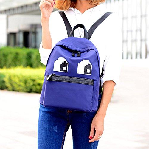 Young & Ming - Large Unisex Doona Materiale Impermeabile Zaino Backpack Decorazione per lavoro / tempo libero / scuola blu