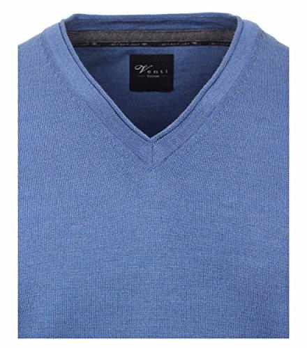 Venti Herren Pullover Aquadunkelblau - uni (181)