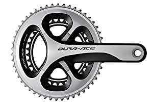 Shimano-Guarnitura 2013 dura-ace fc 9000-175 mm, 50 x 34, 2 x denti 11 Velocità