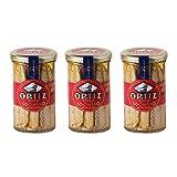 Ortiz Filetes Del Caballa Del Sur En Aceite De Oliva - Makrelenfilets in Olivenöl, 3er Pack (3 x 250 g)