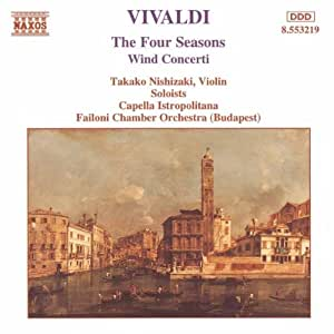 Vivaldi: The Four Seasons / Wind Concerti