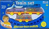 #7: SuperToy(TM) Train Set Battery Operated Track Toy Train for kids