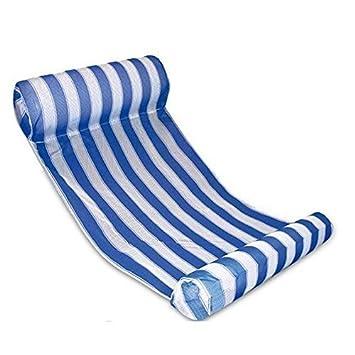 pellor premium swimming pool beach floating water hammock lounge chair  blue   amazon co uk  toys  u0026 games pellor premium swimming pool beach floating water hammock lounge      rh   amazon co uk