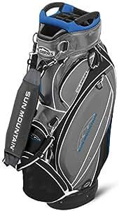 Sun Mountain Sac de golf chariot Tour Series Gris acier/noir/Cobalt