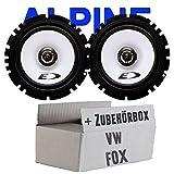 VW Fox - Alpine SXE-1725S 16cm 2 Wege-Koaxsystem